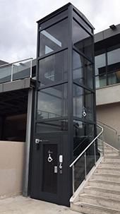 panoramik engelli asansörü