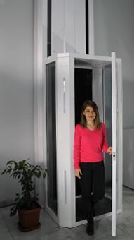 ev içi asansör niva
